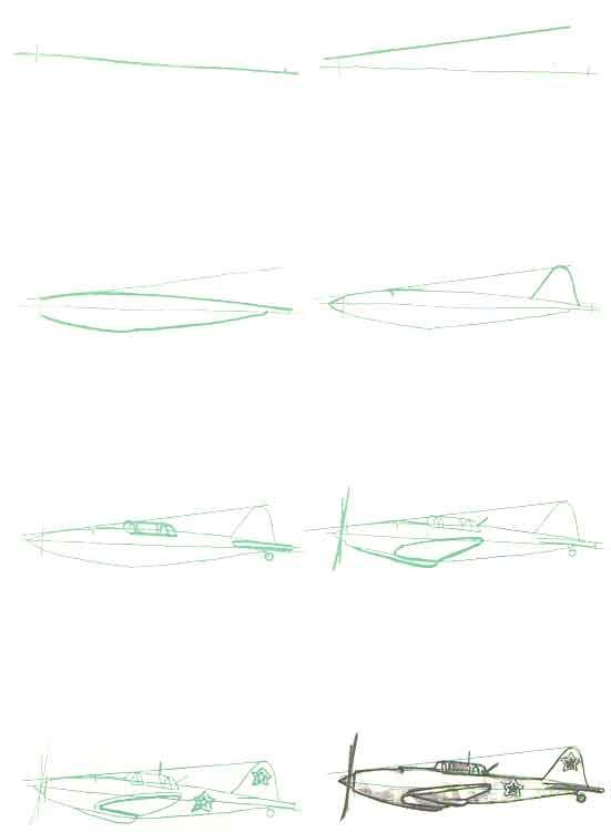 рязанской картинки военный самолет карандашом поэтапно правоохранительных